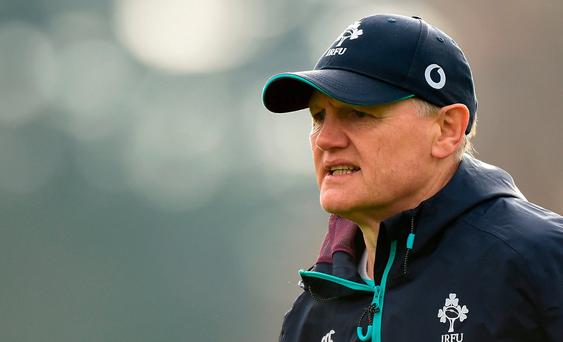 Ireland head coach Joe Schmidt during squad training at Carton House, Maynooth, Co. Kildare. Photo by Matt Browne/Sportsfile