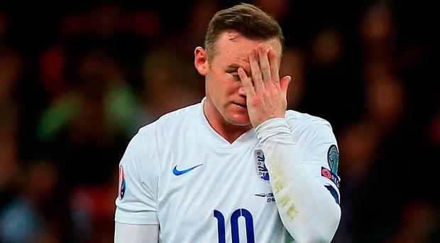 Rooney issued a public apology this week after being rebuked by the FA for apparently getting drunk in the team hotel 24 hours after England's 3-0 World Cup qualifying win over Scotland eight days ago. Photo credit: Nick Potts/PA Wire.