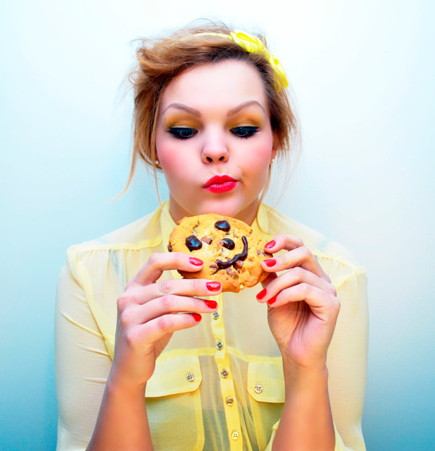 Cravings, especially for sugary foods, can be a sign of heightened stress levels Photo: Depositphotos
