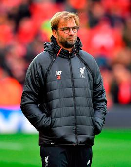 Klopp's background is in sports science and he expects Liverpool players to be as well prepared as any of their rivals. Photo credit: Dave Howarth/PA Wire