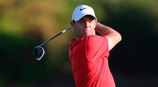 Rory McIlroy: Hoping to improve. Pic: AP Photo/Kamran Jebreili