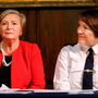 Minister for Justice Frances Fitzgerald (left) and Garda Commissioner Nóirín O'Sullivan Photo: Steve Humphreys
