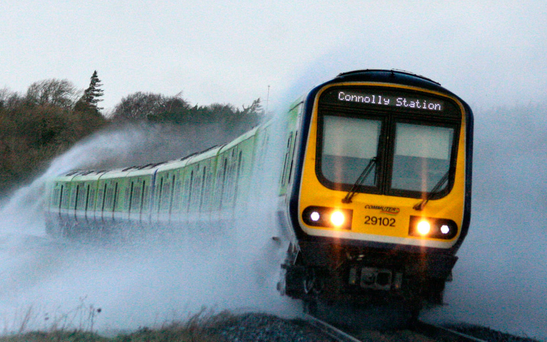 Irish Rail has accumulated losses of €150m Photo: Colin Watters