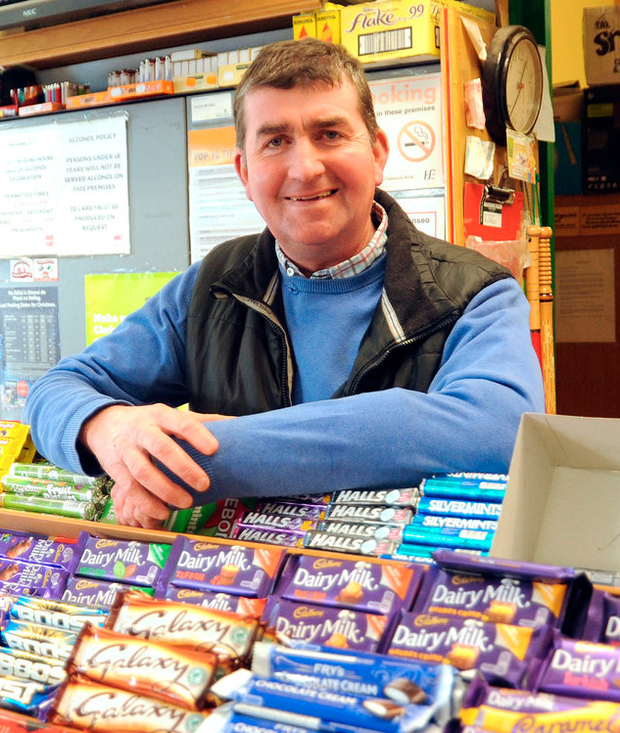 Gerry Whyte of Whyte's Checkout, Legan, Co Longford Photo: Willie Farrell