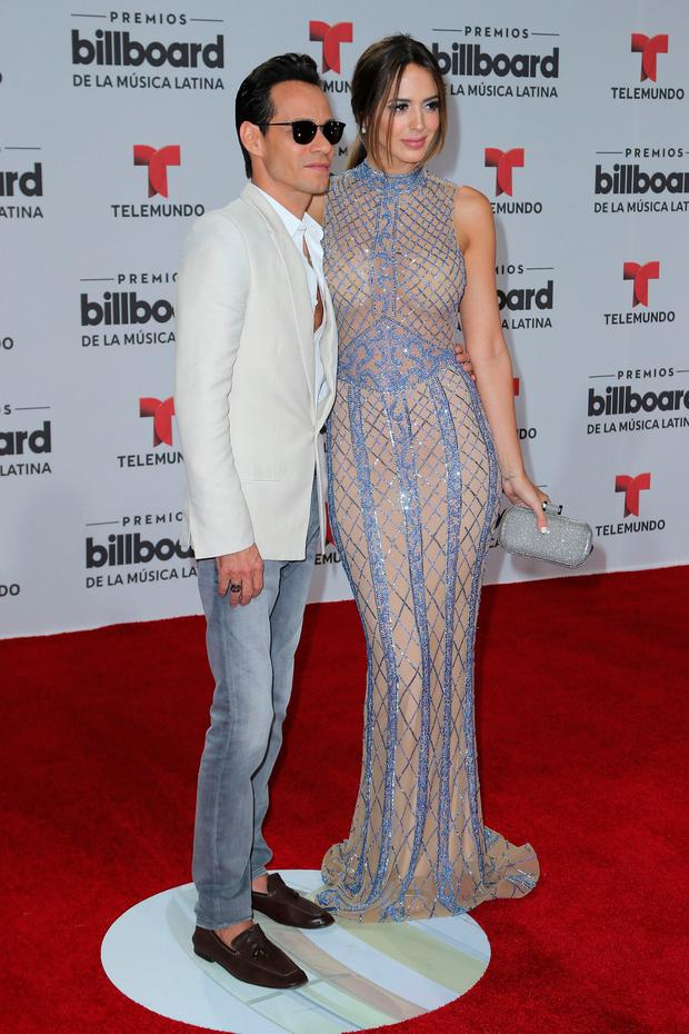Marc Anthony and Shannon de Lima attend the Billboard Latin Music Awards at Bank United Center on April 28, 2016 in Miami, Florida. (Photo by Alexander Tamargo/Getty Images)