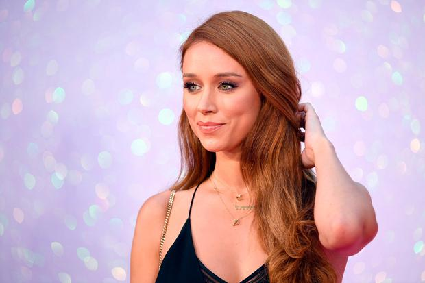 Una Healy arrives for the World premiere of