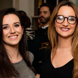 Niamh Devitt & Caroline Foran at the launch of Hendrick's Chambers of the Curious at City Assembly House. Picture: Anthony Woods