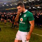 Rob Kearney of Ireland after the Autumn International match between Ireland and New Zealand at the Aviva Stadium in Dublin. Photo by Brendan Moran/Sportsfile