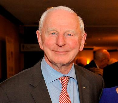 PAT HICKEY: In good spirits after 'tough few months'. Photo: Larry French/Getty Images