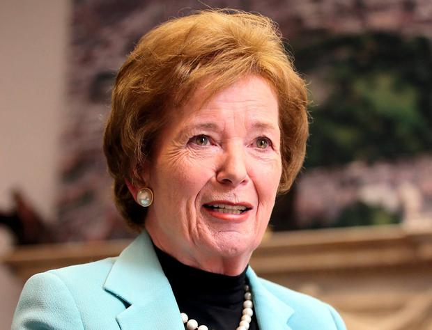 Former President Mary Robinson. Photo: Frank McGrath