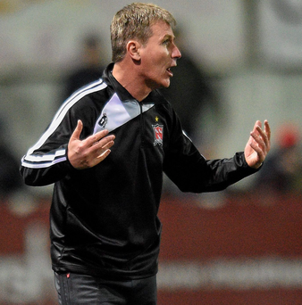 Dundalk manager Stephen Kenny: