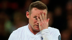 England's Wayne Rooney has been making headlines off the pitch this week. Picture: PA Wire