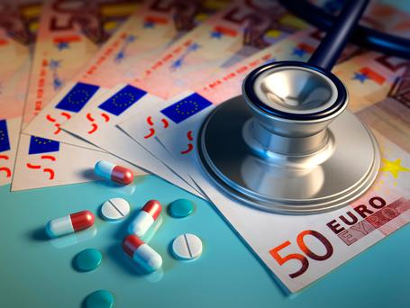 'A survey carried out by Dermot Goode of Totalhealthcover.ie found that consumers are overpaying for their cover by an average of 19pc. This equates to over €700, with some overpaying by as much as €1,200 on like-for-like family plans.' Stock pic: Depositphotos