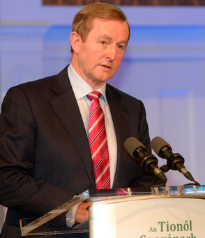 Taoiseach Enda Kenny. Photo: Justin Farrelly