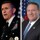 POWER BASE: From left, prospective US attorney general Jeff Sessions, national security adviser Lt Gen Mike Flynn, next director of the CIA Mike Pompeo and chief strategist Steve Bannon