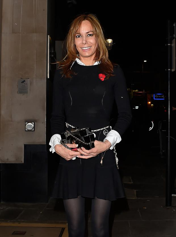 Tara Palmer-Tomkinson attends Ant and Dec's joint 40th Birthday party at Kensington Roof Gardens on October 15, 2015 in London, England. (Photo by Keith Hewitt/GC Images)