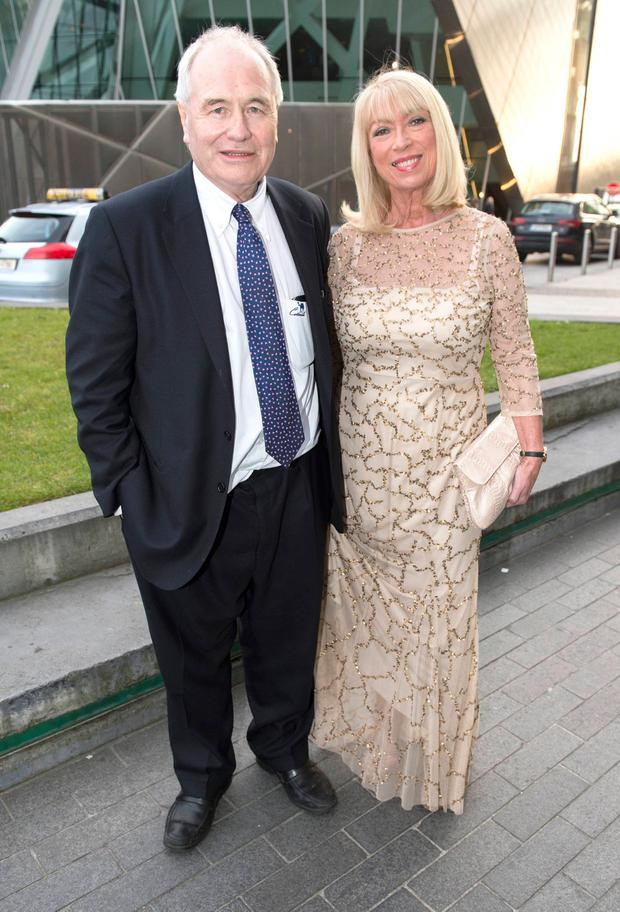 Dan McGrattan and Anne Doyle at The Marker Hotel for the VIP Style Awards 2016