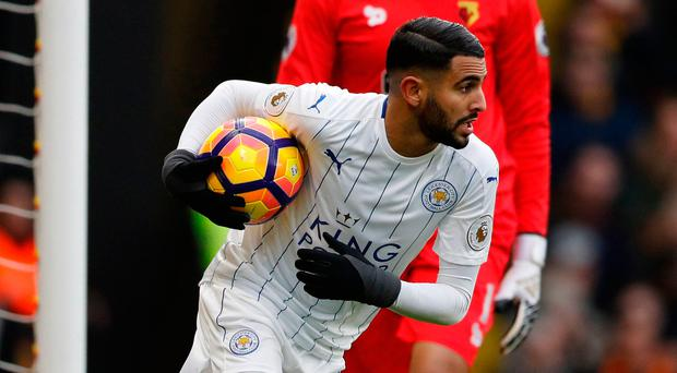 Riyad Mahrez. Photo: Reuters / Darren Staples