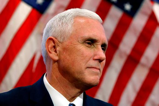 US vice president-elect Mike Pence. REUTERS/Gary Cameron