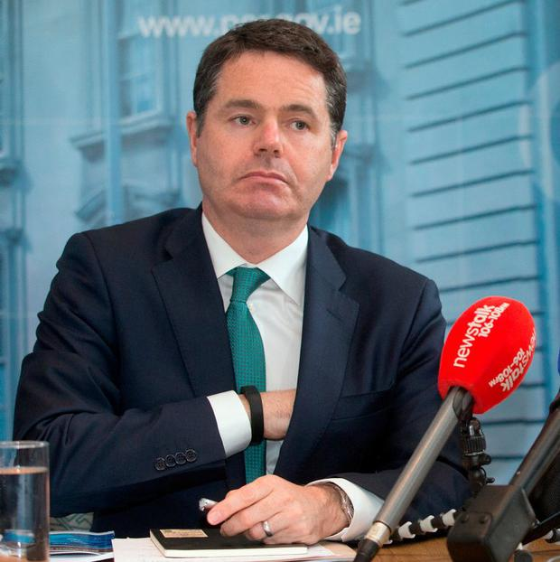 Public Expenditure Minister Paschal Donohoe. Photo: Tony Gavin