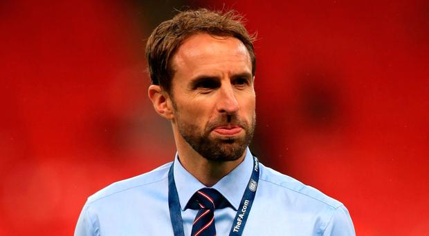 England interim manager Gareth Southgate. Photo credit: Mike Egerton/PA Wire