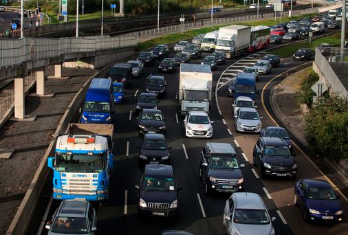 'You can't build your way out of the problem. There's no area with a congestion problem that doesn't need a public transport solution'. Photo: Collins