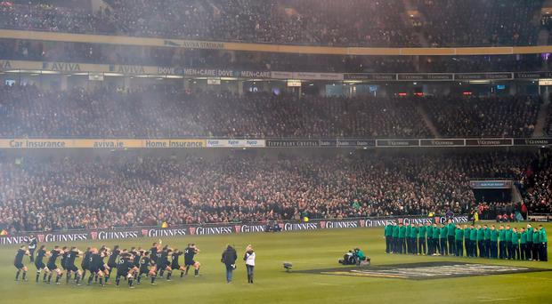 The IRFU confirmed it would now be threatening to cancel tickets. Photo by Ramsey Cardy/Sportsfile