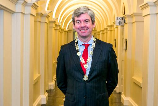 Stuart Gilhooly pictured at Blackhall place. Photo: Kyran O'Brien