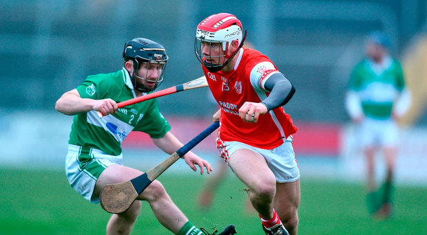 Cuala's Con O'Callaghan gets away from Garry Bennett of St Mullins during the Leinster Club SHC semi-final. Photo: David Maher/Sportsfile
