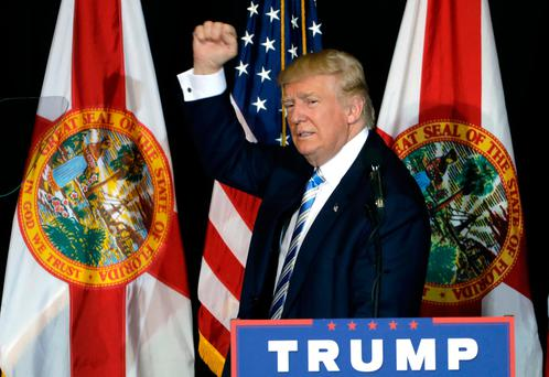 Donald Trump's win came as a huge surprise to many commentators. Picture: AP Photo/Chris O'Meara