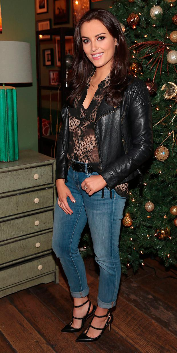 Holly Carpenter at the third birthday of Ceira Lambert's Hair Consultancy at House in Leeson Street, Dublin. Picture: Brian McEvoy