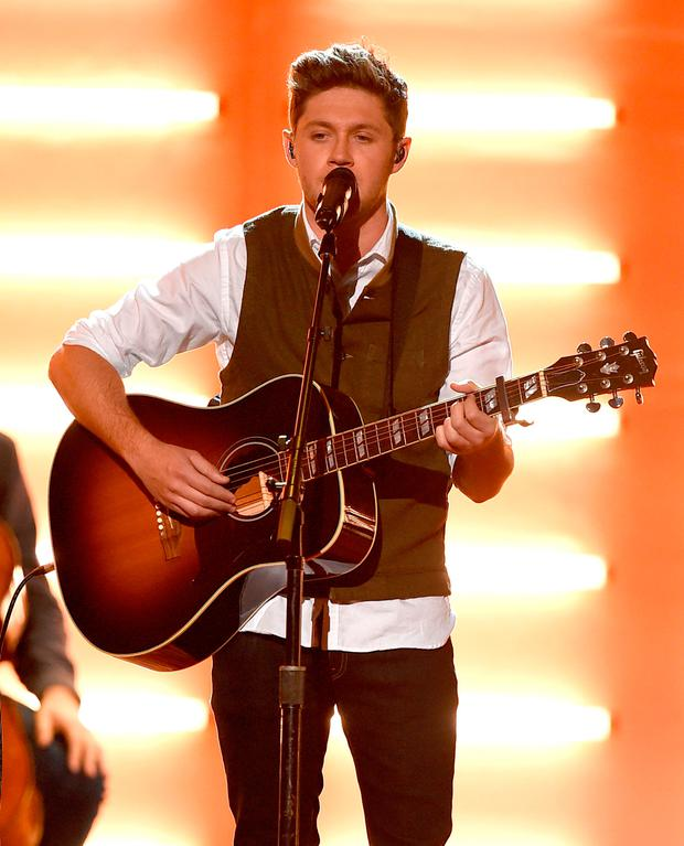 Singer Niall Horan performs onstage during the 2016 American Music Awards at Microsoft Theater on November 20, 2016 in Los Angeles, California. (Photo by Kevin Winter/Getty Images)