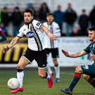 Darren Meenan in action for Dundalk