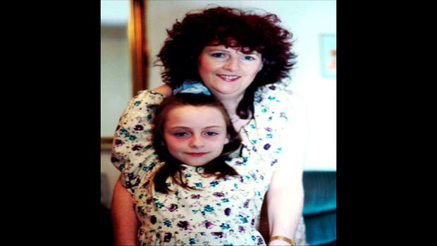 Irene White and her daughter Jennifer. Picture: Crimecall