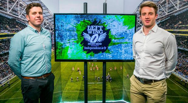 Ruaidhri O'Connor & Luke Fitzgerald in Studio