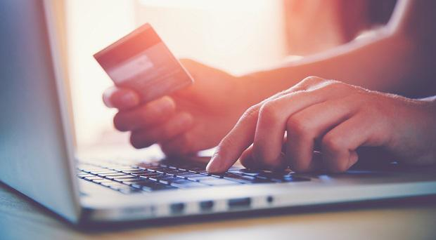 Shopping around the clock online. Stock photo: AP