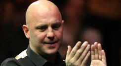 Mark King claimed victory at the Northern Ireland open