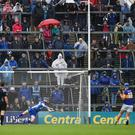 John McGrath fires a penalty past Waterford goalkeeper Stephen O'Keeffe during this year's Munster GAA Hurling Senior Championship Final. The Allianz Hurling League quarter-finals and semi-finals in 2017 will be decided by a shoot-out if they finish level after two separate periods of extra-time. Photo by Ray McManus/Sportsfile