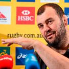 Michael Cheika will try and make time to catch up with some old friends from his Leinster days this week. Photo by Cody Glenn/SPORTSFILE