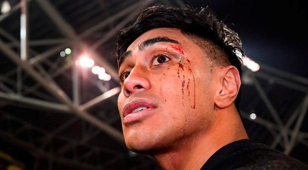 'No doubt, New Zealand were up for the game but they crossed the line, especially with Malakai Fekitoa's high hit on Simon Zebo which merited a red card in my book' Photo by Stephen McCarthy/Sportsfile