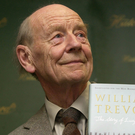 William Trevor poses with his novel 'The Story of Lucy Gault' in 2002 Picture: PA/Chris Young