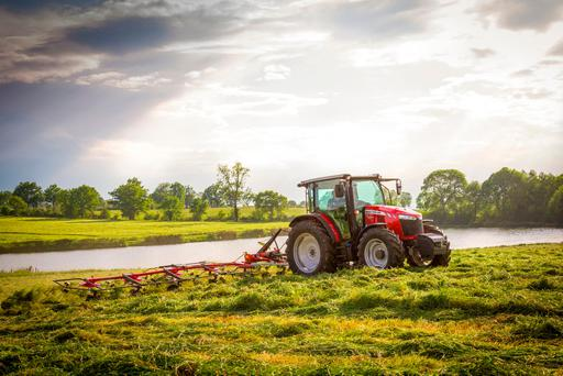 Massey Ferguson's new 5711 Global Series tractor will make its Irish debut at the FTMTA Machinery Show in Punchestown