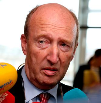 Transport Minister Shane Ross Picture: Tom Burke