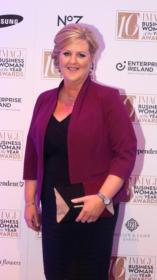 Pamela Quinn, MD of Kuehne and Nagel, who was named as the overall image businesswoman of the year at the 2016 IMAGE Businesswoman of the Year Awards in Dublin. Picture credit; Damien Eagers