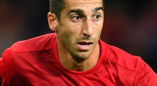 Henrikh Mkhitaryan has fallen out of favour at Manchester United Photo: Michael Regan/Getty Images