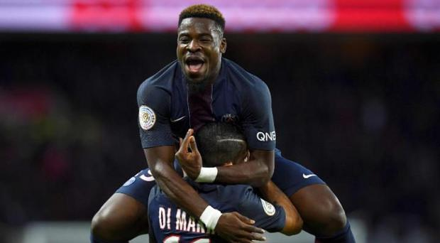 Serge Aurier was sentenced to two months in jail for elbowing a police officer
