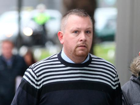 Edmund Stewart (33), with an address at Ardgate Place, Newtownabbey, Co Antrim, had pleaded guilty to sexually assaulting a woman at the Farnham Arms Hotel in Co Cavan on June 24, 2012. Pic Collins Courts