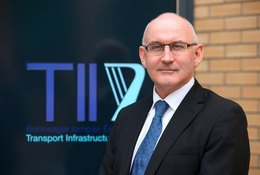 Michael Nolan, chief executive of Transport Infrastructure Ireland. Photo: Damien Eagers