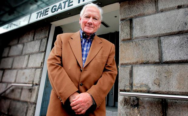 Veteran broadcaster Gay Byrne shocked listeners when he said he was going for tests. Photo: Steve Humphreys