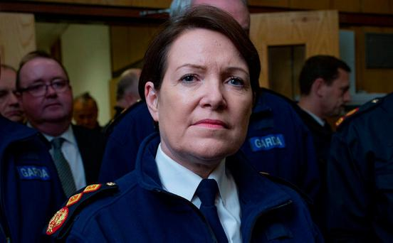Private: Garda Commissioner Nóirín O'Sullivan. Photo: Arthur Carron